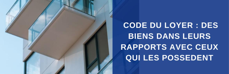 Code du loyer