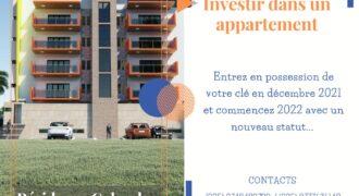 Appartement de 3 pièces à vendre à Angré Gestoci